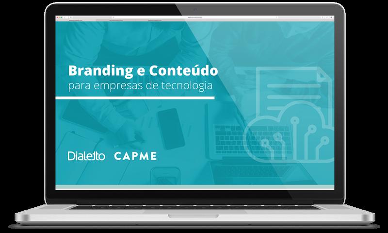 [eBook] Branding e Conteúdo para empresas de tecnologia